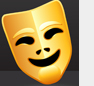 Mask of comedy